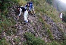 Klettersteig Speer : Klettersteig speer